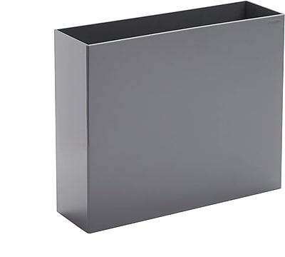Poppin File Box Dark Gray 102734