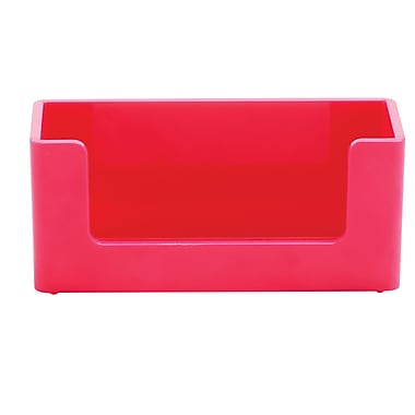 Poppin Pink Business Card Holder