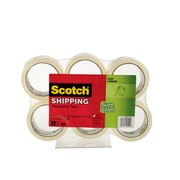 "Scotch® Sure Start 1 7/8"" x 43.7 yds Shipping Tape, Clear, 1 Roll (3450-40-6)"