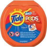 Tide® PODS HE Laundry Detergent, Original Scent, 72 Pods/Pack