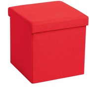 Poppin Box Seat Open Drawer Binder Storage, Red,Specialty, 16''W (101563)