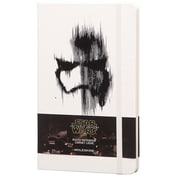 Moleskine Limited Edition Notebook, Large, Ruled, Star Wars Episode VII Storm Trooper
