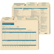 ComplyRight Employee Record Organizer, Expandable 6-Folder Set