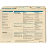 ComplyRight Employee Record Organizer for Small Business, 3-Folder Set