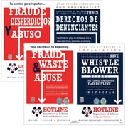 ComplyRight DOD Fraud and Whistleblower Hotline Poster