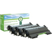 Sustainable Earth by Staples® Reman Laser Toner Cartridge, Brother TN420 (TN420/TN420/TN420) Black, 3-Pack