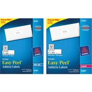 Avery® Best Selling White Address Labels with Easy Peel®