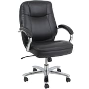 Elliott Heavy-Duty Executive Chair with Chrome Accent
