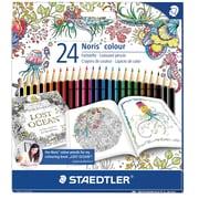Staedtler – Crayons de couleur pour coloriage d'adultes, paq./24