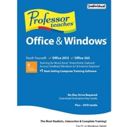 Individual Software Professor Teaches Office 2013, 365 and Windows Tutorial Set Downloads for Windows (1 User) [Download]