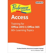 Individiual Software Professor Teaches Access for Office 2013 and Office 365 for Windows (1 User) [Download]