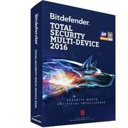 Bitdefender Total Security Multi-Device 2016 3 devices 1 Year for Windows (1 User) [Download]
