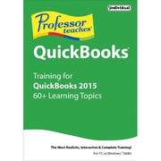 Individual Software Professor Teaches QuickBooks 2015 for Windows (1 User) [Download]