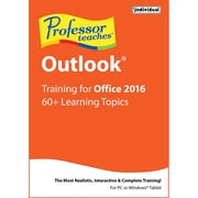 Individual Software Professor Teaches Outlook 2016 for Windows (1 User) [Download]