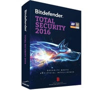 Bitdefender Total Security 2016 3 User 1 Year for Windows (1-3 Users) [Download]