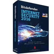 Bitdefender Internet Security 2016 3 Users 2 Year for Windows (1-3 Users) [Download]