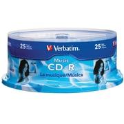 Verbatim Music CD-R 40X 25Pk Spindle