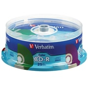Verbatim CD-R 52X Colors 25Pk Spindle