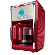 BELLA® Dots 12 Cup Coffee Maker, Red