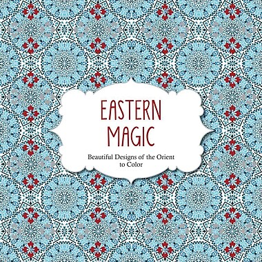 Barron's Adult Colouring Book, Eastern Magic
