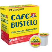 Cafe Bustelo® Espresso, Regular Keurig® K-Cup® Pods, 18 Count