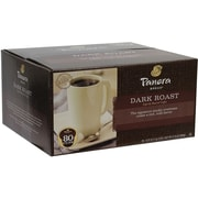 Panera Dark Roast Coffee K-Cup, 80 Count