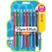 Paper Mate® InkJoy® Gel Pens, Fine Point, Assorted, 8/Pack (1968614)