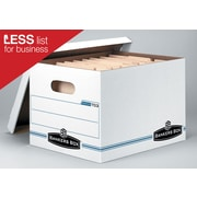 Bankers Box® Stor/File™ Basic-Duty Storage Boxes, Letter/Legal Size, 10 Pack (703™)