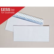"Staples EasyClose Security Tint #10 Envelope, 4-1/8"" x 9-1/2"", White, 500/Box (787385)"