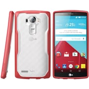 SUPCASE LG G4 Case Unicorn Beetle Hybrid Protective Case, Clear Red