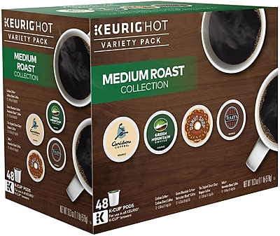 Keurig K-Cup Medium Roast Variety Pack Coffee, 48 Pack 950846