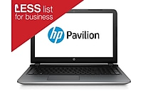 HP Pavilion 15-ab165us 15.6' HD BrightView Intel® Core™ i5-5200U 1TB 6GB Windows 10 Home Notebook Silver