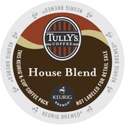 Tully's Coffee® House Blend Coffee K-Cups®, 96/Carton (192919)