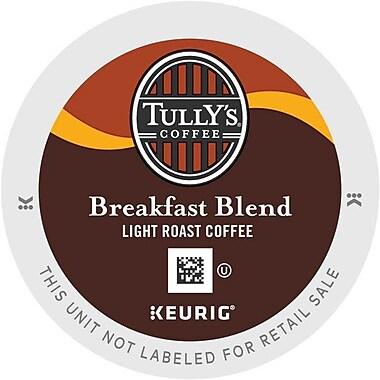 Keurig® K-Cup® Tully's® Breakfast Blend Extra Bold Coffee, Regular, 24/Pack