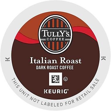 Keurig® K-Cup® Tully's® Italian Roast Coffee, Regular, 18 Pack