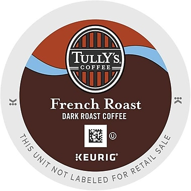 Keurig® K-Cup® Tully's® French Roast Extra Bold Coffee, Regular, 18 Pack