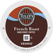 Tully's Coffee® French Roast Coffee K-Cups®, 96/Carton (192619)