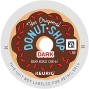 The Original Donut Shop® Dark Coffee, Regular Keurig® K-Cup® Pods, 18 Count