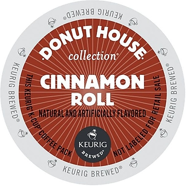 Keurig® K-Cup® Green Mountain® Donut House™ Cinnamon Roll™ Coffee, Regular, 24/Pack