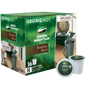 Keurig® K-Cup® Green Mountain® Breakfast Blend Coffee, Regular, 36 Pack