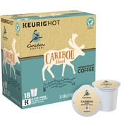 Keurig® K-Cup® Caribou Coffee® Caribou Blend Coffee, Regular, 18 Pack