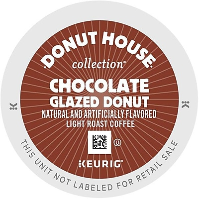 Donut House Chocolate Glazed Donut K-Cups, 96/Carton (6722) GMT6722CT