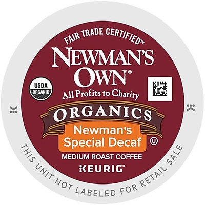 Newman's Own Organics Special Decaf Coffee K-Cups, 96/Carton (4051) GMT4051CT