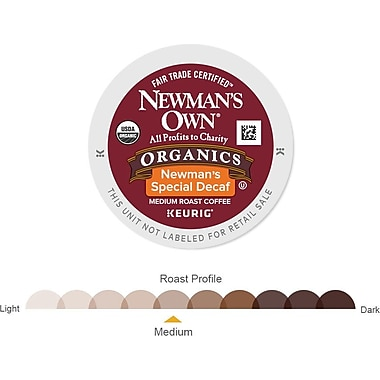 Keurig® K-Cup® Newman's Own® Organics Special Decaf Coffee, 18 Pack