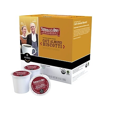 Keurig® K-Cup® Newmans Own® Café Almond Biscotti Coffee, 18 Pack