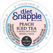 Keurig Snapple Diet Peach Iced Tea K-Cups, 22 K-Cups/Pack (6622)