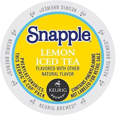 Keurig® K-Cup® Snapple® Iced Tea, Lemon, 22/Pack