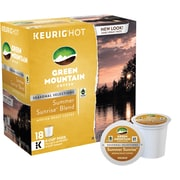 Keurig K-Cup Green Mountain Summer Sunrise Blend, 18 Pack