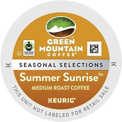 Keurig K-Cup Green Mountain Summer Sunrise Blend, 18 Pack 1519424
