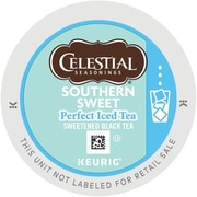 Keurig® K-Cup® Celestial Seasonings® Southern Sweet Perfect Iced Tea, Regular, 22/Pack